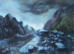 painting of 06_looking_down_the_fox_glacier_valley_705_x_510.jpg