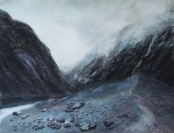 painting of franz_josef_valley