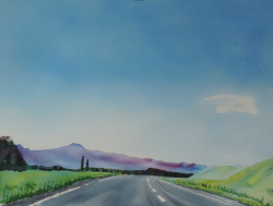 painting of driving_south