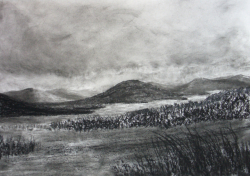 painting of highland_loch
