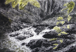 painting of mill_stream