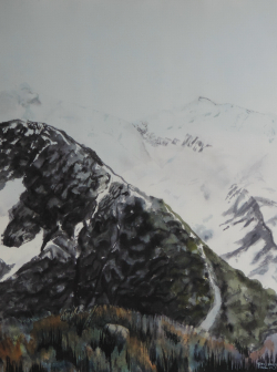 painting of mt_sefton